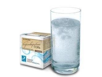 Очищение кишечника соленой водой английской и карловарской