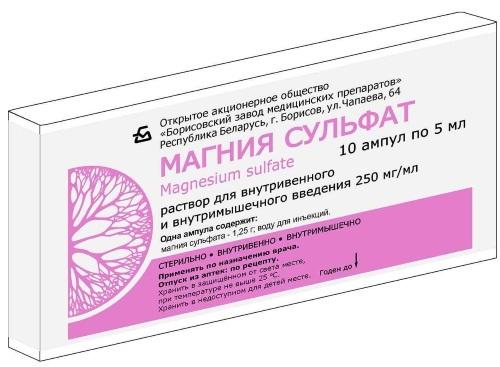 Магния сульфат для очищения кишечника: инструкция по применению